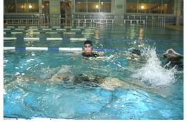 クロール50m&背泳ぎ